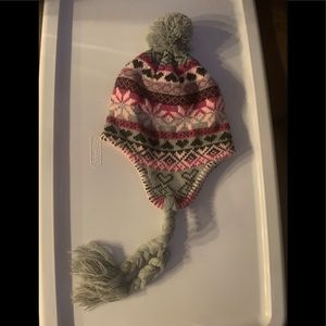 Woman's Beanie with cute ball on top